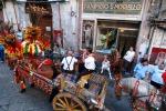 """Cantastorie, suonatori e danzatori a Bronte per il """"Carretto Sicily Fest"""""""