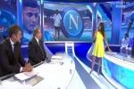 Incinta di Buffon, Ilaria D'Amico mostra il pancione in diretta tv - Foto