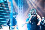 Shopping e musica ad Agira, Irene Grandi sul palco: tutte le foto