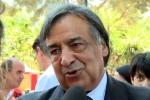 Il sindaco di Palermo Leoluca Orlando