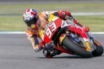 Marc Marquez in sella alla sua Honda