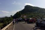 Palermo-Agrigento, scontro fra 4 auto Morto un uomo di Bolognetta, 3 feriti