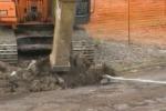 Licata, dopo i tafferugli parte la demolizione a Gallodoro