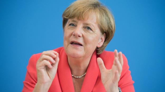 Angela Merkel, Sicilia, Mondo