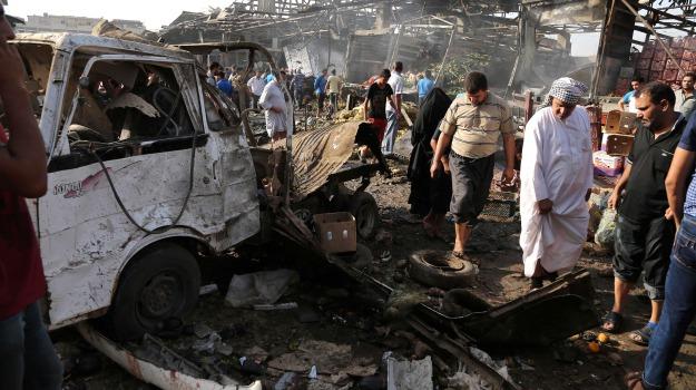 Baghdad, bomba, camion, esplosione, Sicilia, Mondo