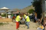 Mondello, i nuovi cestini in spiaggia