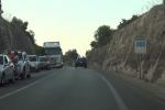 Incidente sulla Palermo-Agrigento: traffico bloccato, lunghe code - Video