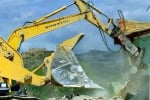 Licata, demolizioni di case abusive: ancora proteste
