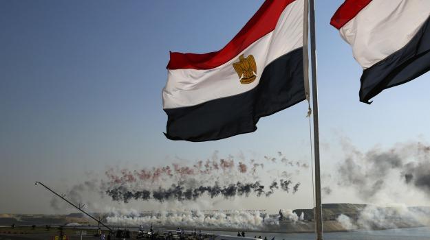 canale, cerimonia, egitto, incontro, Ismailia, navi, Suez, Sicilia, Mondo