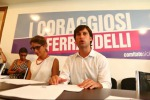 """Ferrandelli presenta i """"Coraggiosi"""" e lancia Beninati per la presidenza del Pd"""
