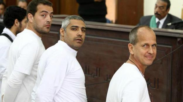 3 anni, al jazeera, condanne, egitto, Giornalisti, Sicilia, Mondo