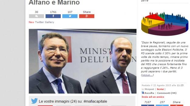 blog, Casamonica, cinquestelle, funerali, m5s, Angelino Alfano, Beppe Grillo, Ignazio Marino, Sicilia, Politica