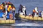 Orrore su un barcone soccorso in mare quaranta cadaveri lasciati nella stiva