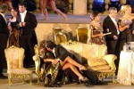 """""""La Traviata"""" a Taormina, nudo integrale del soprano Natasha Dikanovich"""
