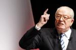 Il Front National caccia il suo fondatore Jean-Marie Le Pen