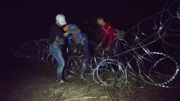 migranti, pattuglie armate, Serbia, Sicilia, Cronaca