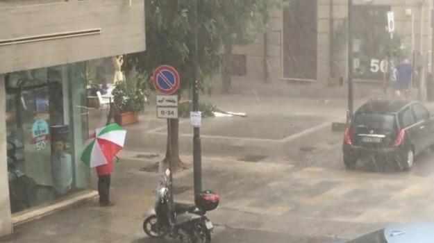 nubifragio, Palermo, vigili del fuoco, Palermo, Cronaca