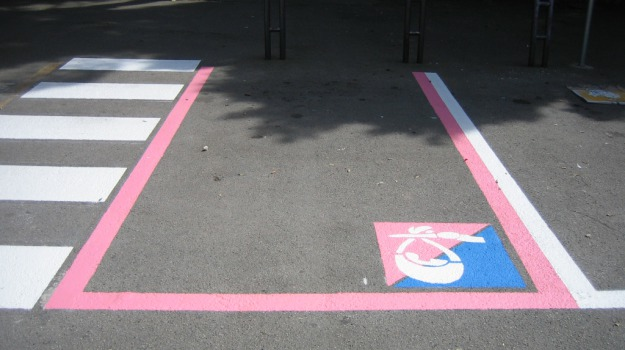 cannizzaro, catania, ospedale, parcheggi rosa, stalli, Catania, Cronaca