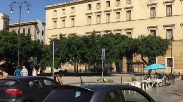 Palermo, Piazza Marina, RAPINA PALERMO, Palermo, Cronaca