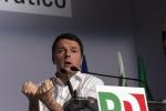"""Renzi su Facebook: """"Ci siamo e teniamo botta, il Paese merita entusiasmo"""""""