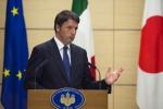 """Renzi in Giappone: """"L'Italia ritrova il dinamismo. Austerità frena la crescita"""""""