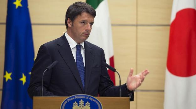 premier, tokyo, Matteo Renzi, Sicilia, Politica