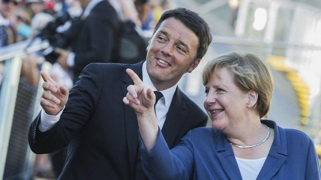 expo, Angela Merkel, Matteo Renzi, Sicilia, Politica