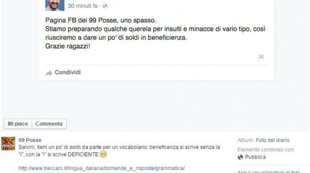 battibecco, facebook, Lega, Sicilia, Società