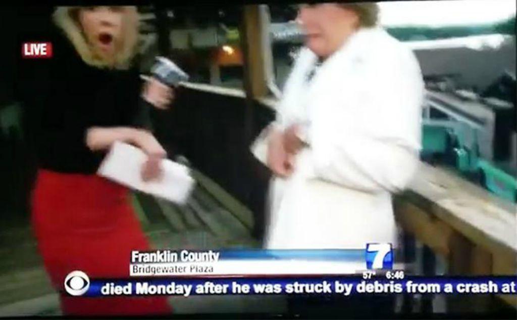 Reporter uccisi in diretta tv l 39 intervistata ferita ha for Camera diretta tv