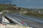 Statale 640, lunedì apertura al traffico della nuova carreggiata