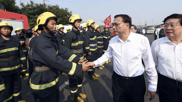 CINA, esplosione, feriti, Tianjin, tragedia, vittime, Sicilia, Mondo