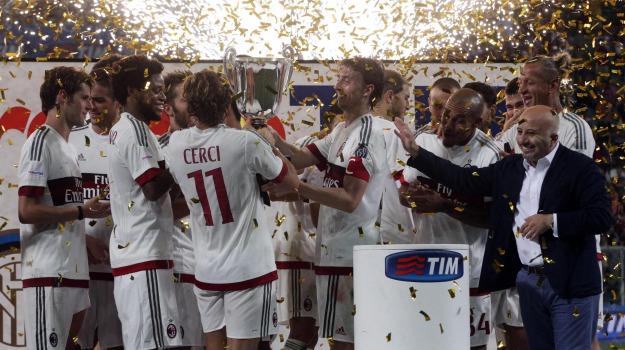 derby milano, inter, Milan, trofeo tim, Sicilia, Sport