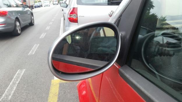 truffa dello specchietto, Trapani, Cronaca