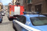 Incendio in casa a Palermo, salvi madre e figlio - Video