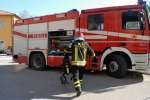 Incendio a Ribera, danneggiate due case disabitate