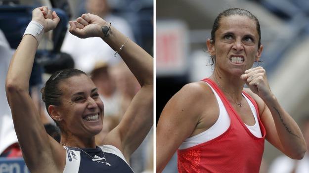 finale italiana, Tennis, Us Open, Flavia Pennetta, Roberta Vinci, Sicilia, Sport