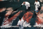 Distruzione e rinascita secondo Hermann Nitsch: una mostra a Palermo