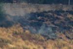 Trabia, fuoco alla macchia mediterranea: un arresto