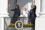 """""""Sono venuto qui da figlio di migranti"""" Il Papa alla Casa Bianca, Obama: """"Grazie per il dono della speranza"""""""