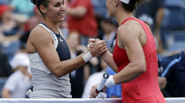 Tennis, Us Open, Flavia Pennetta, Sicilia, Sport