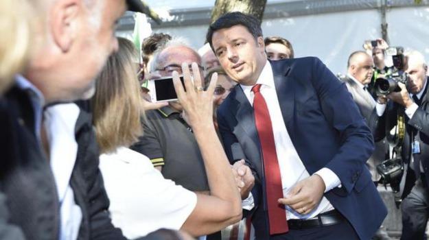 Festa Unità, pd, politica, Matteo Renzi, Sicilia, Politica