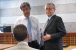 Tangenti, rito abbreviato per Helg: le immagini del suo arrivo in tribunale