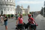 """In bici da Torino a Carini, l'impresa di due fratelli siciliani: """"Mai arrendersi"""""""