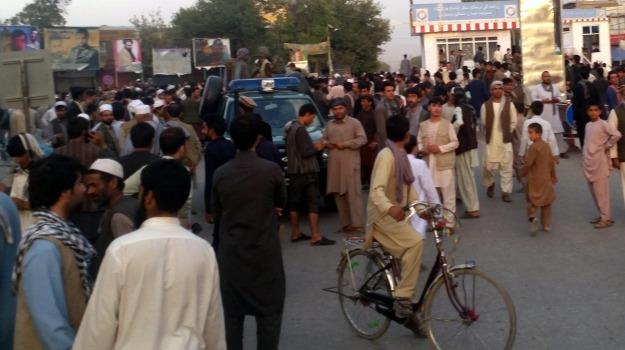 Afganistan, Kunduz City, raid usa, talebani, Sicilia, Mondo