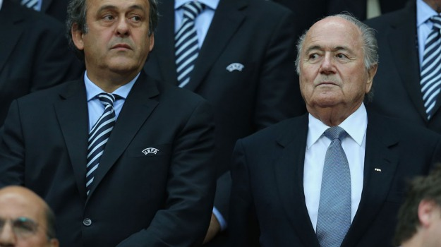 Calcio, fifa, uefa, Michel Platini, Sepp Blatter, Sicilia, Sport