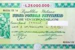 Nissena ritrova buono fruttifero di 38 anni fa: ora vale 228 mila euro
