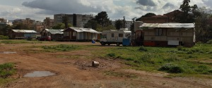 Il campo nomadi della Favorita, Palermo