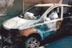Cinque auto bruciate a Marsala e Petrosino: è allarme incendiari