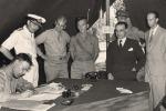 Cassibile ricorda la firma dell'armistizio
