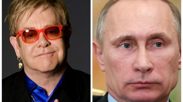 diritti, Russia, Elton John, Vladimir Putin, Sicilia, Mondo